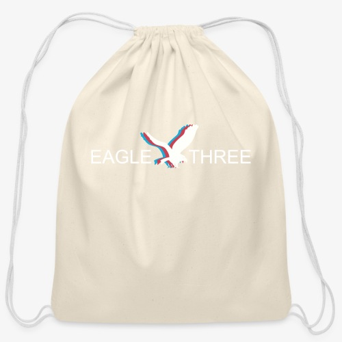 EAGLE THREE APPAREL - Cotton Drawstring Bag