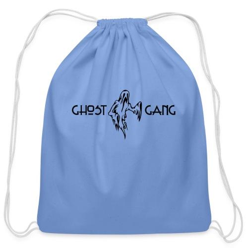 GhostGang Kronic Logo - Cotton Drawstring Bag