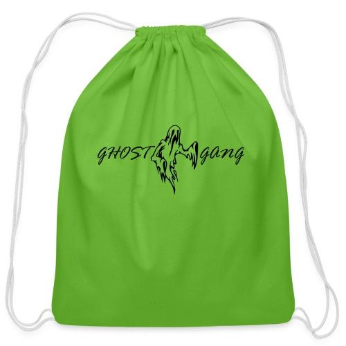 GhostGang Logo - Cotton Drawstring Bag