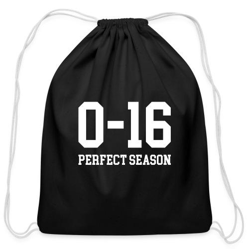 Detroit Lions 0 16 Perfect Season - Cotton Drawstring Bag