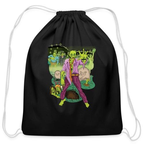 Zombies! - Cotton Drawstring Bag