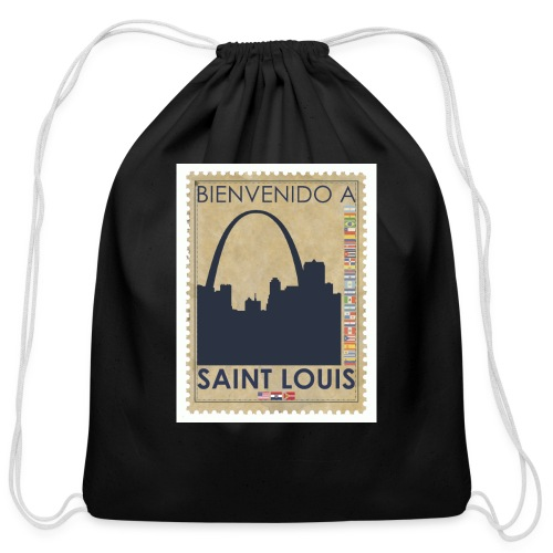 Bienvenido A Saint Louis - Cotton Drawstring Bag