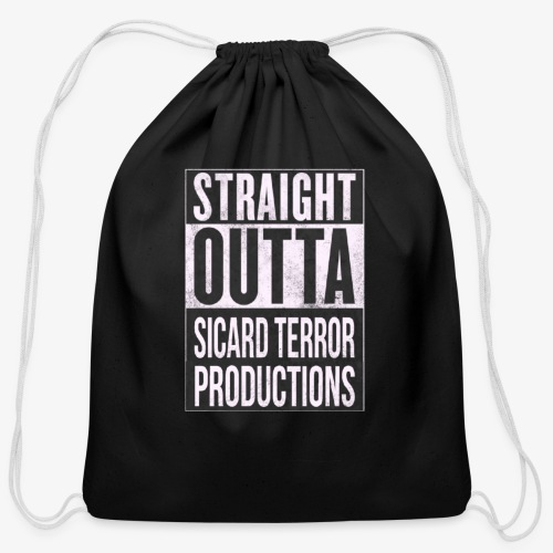 Strait Out Of Sicard Terror Productions - Cotton Drawstring Bag