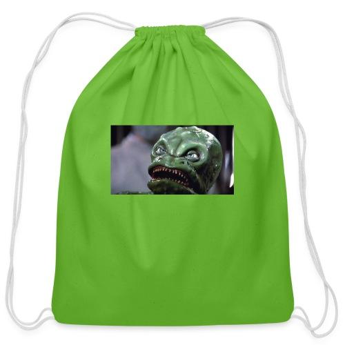 Lizard baby from Z - Cotton Drawstring Bag