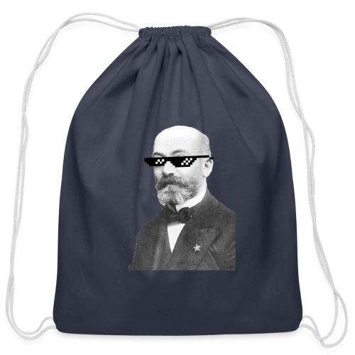 Zamenhof Shades (BW) - Cotton Drawstring Bag