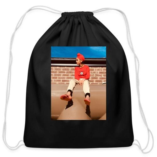 Flamin_Danger - Cotton Drawstring Bag