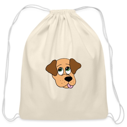 Puppy Love - Cotton Drawstring Bag