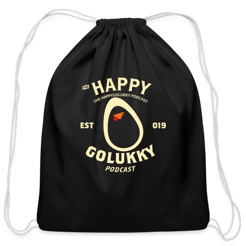 HGL newest white - Cotton Drawstring Bag