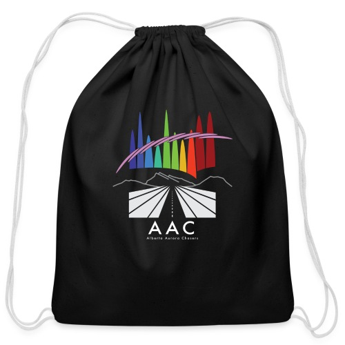 Alberta Aurora Chasers - Men's T-Shirt - Cotton Drawstring Bag