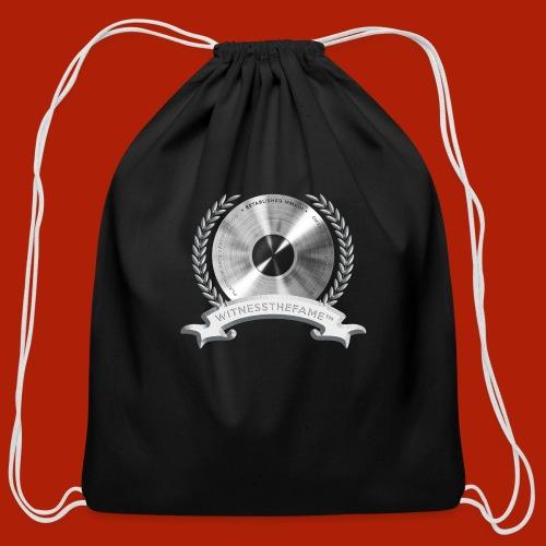 WITNESSTHEFAME PLATINUM SEAL - Cotton Drawstring Bag