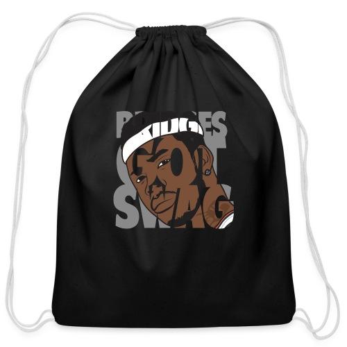 Men's Hoodie - #BridgesGotSwag - Cotton Drawstring Bag