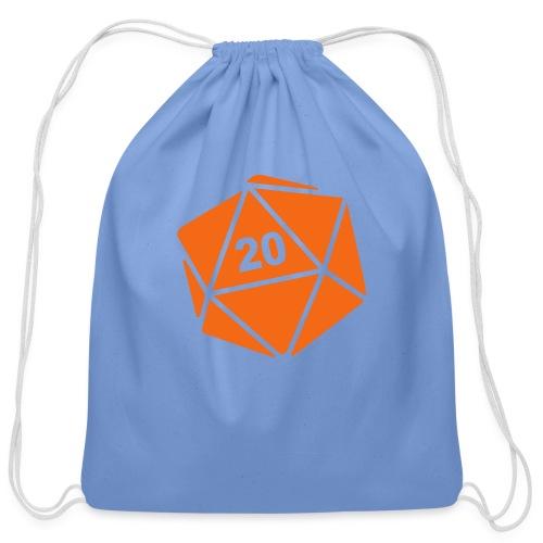 D20 Winter Toque - Cotton Drawstring Bag