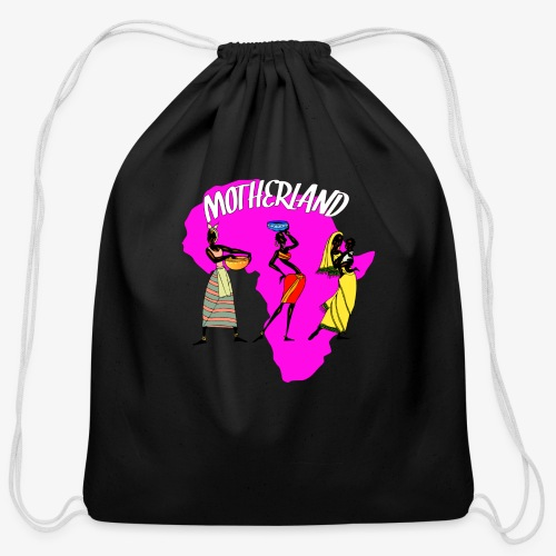 Motherland - Cotton Drawstring Bag