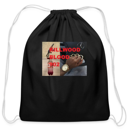 Killwood Blood 902 - Cotton Drawstring Bag