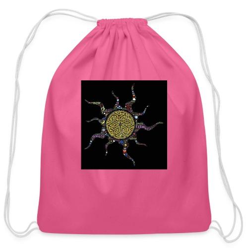 awake - Cotton Drawstring Bag
