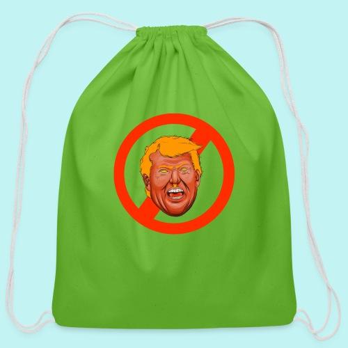 Dump Trump - Cotton Drawstring Bag