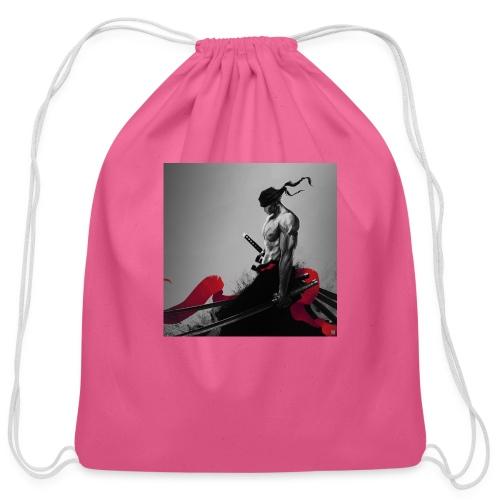 ninja - Cotton Drawstring Bag