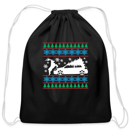 MK6 GTI Ugly Christmas Sweater - Cotton Drawstring Bag