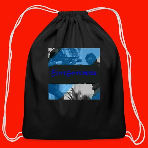 EliteGlitchersRevamp - Cotton Drawstring Bag