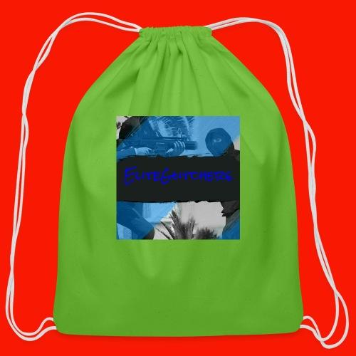EliteGlitchersRevamp - Cotton Drawstring Bag