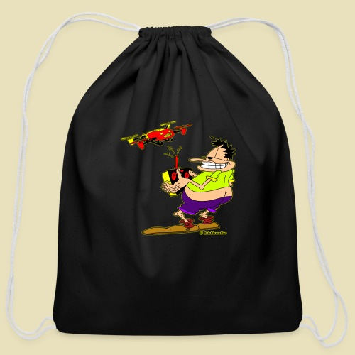 GrisDismation Ongher Droning Out Tshirt - Cotton Drawstring Bag