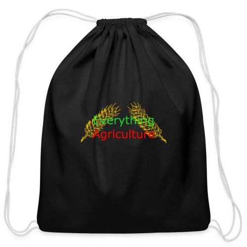 Everything Agriculture LOGO - Cotton Drawstring Bag