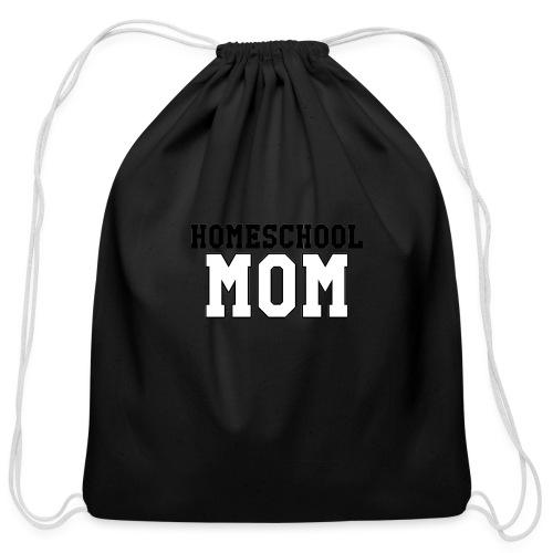 homeschoolmom - Cotton Drawstring Bag