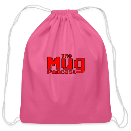 The Mug Podcast - Cotton Drawstring Bag