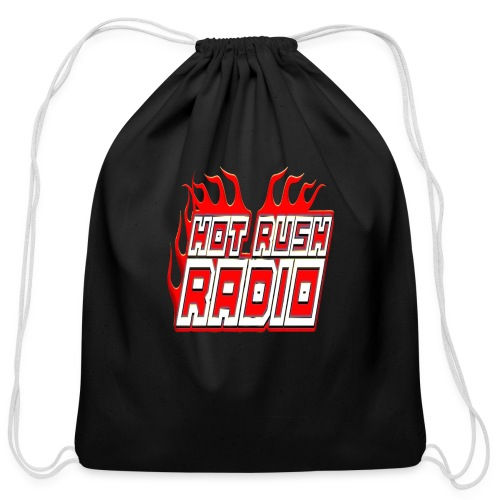 worlds #1 radio station net work - Cotton Drawstring Bag