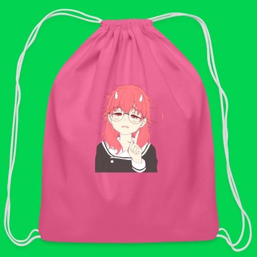 Tired Mei - Cotton Drawstring Bag