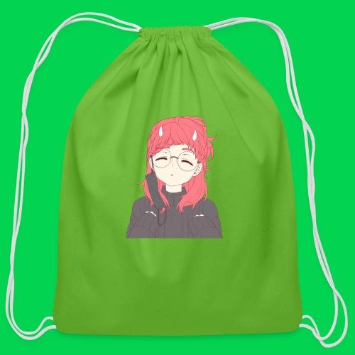 Mei awoooo - Cotton Drawstring Bag