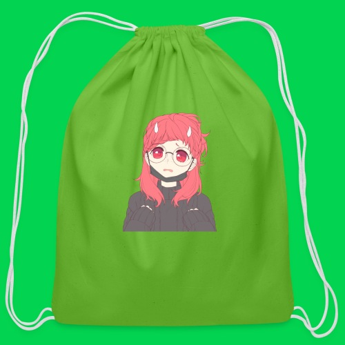 Mei is sorry! - Cotton Drawstring Bag