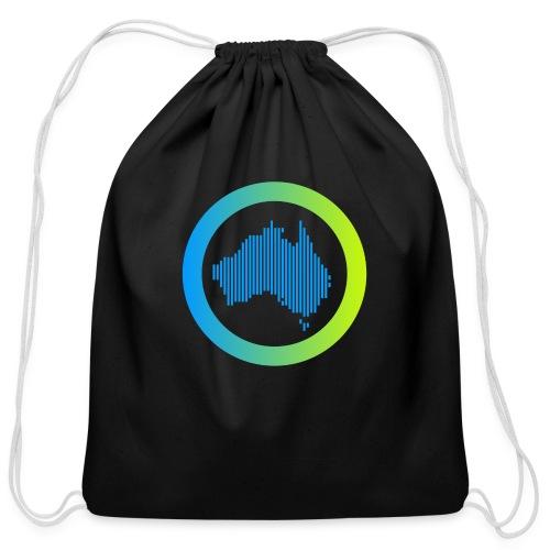 Gradient Symbol Only - Cotton Drawstring Bag