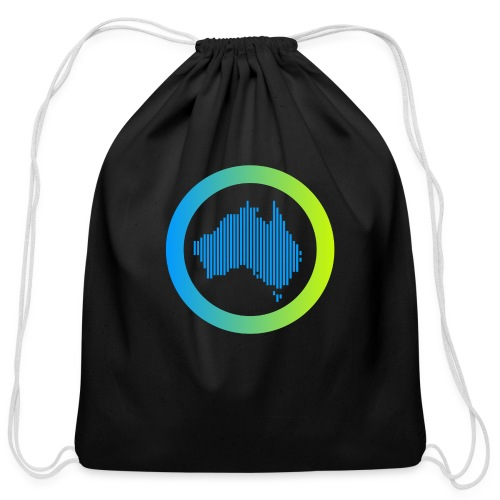 Gradient Symbol Only - Cotton Drawstring Bag