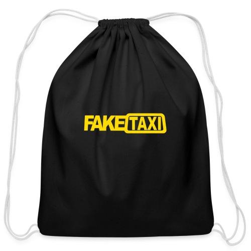 FAKE TAXI Duffle Bag - Cotton Drawstring Bag