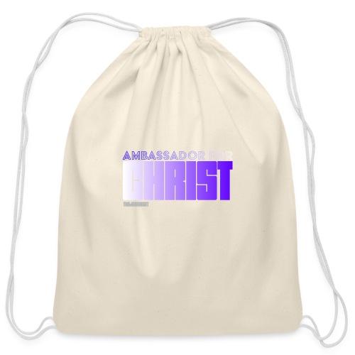 Ambassador for Christ - Cotton Drawstring Bag