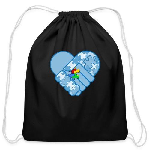 ASD Heart - Cotton Drawstring Bag