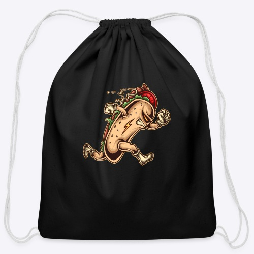 Hot Dog Hero - Cotton Drawstring Bag