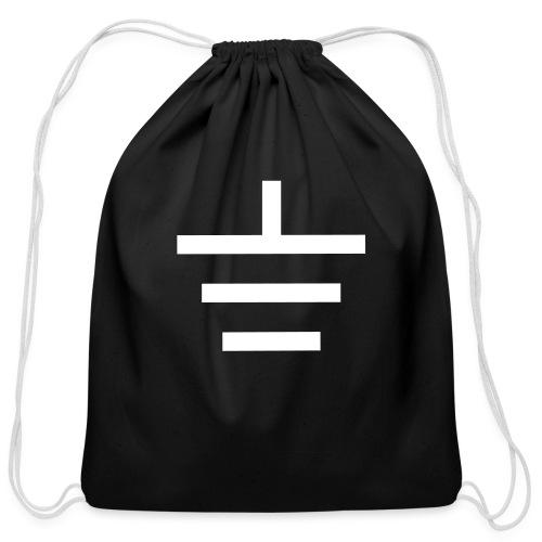 GROUNDED - BASEBALL CAP - Cotton Drawstring Bag