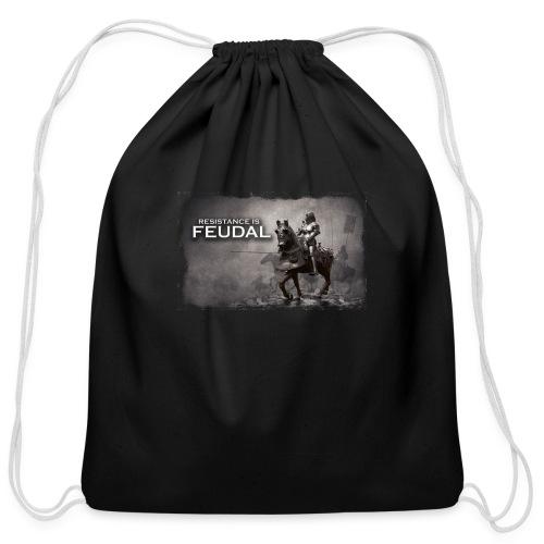 Resistance is Feudal 2 - Cotton Drawstring Bag
