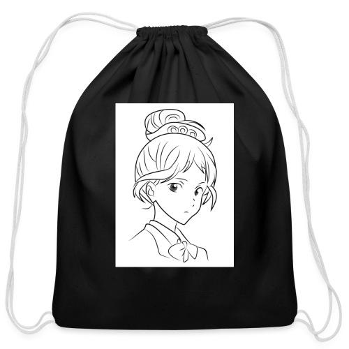 Girl - Cotton Drawstring Bag