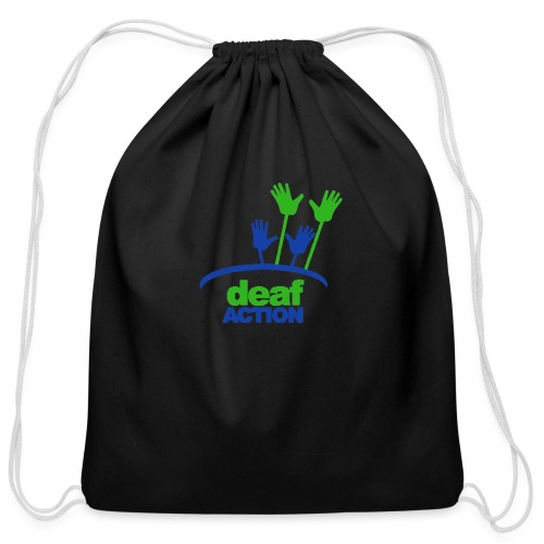 DA logo Color - Cotton Drawstring Bag