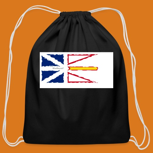 Talks from Home - Cotton Drawstring Bag