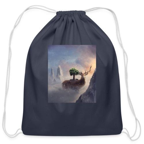 animal - Cotton Drawstring Bag