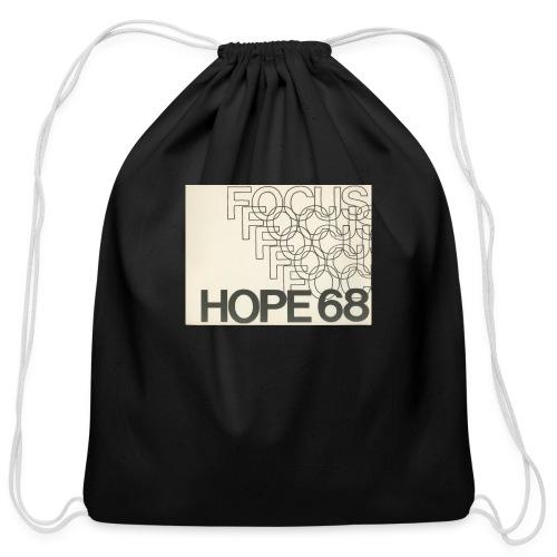 Vintage Focus: HOPE Logo - Cotton Drawstring Bag