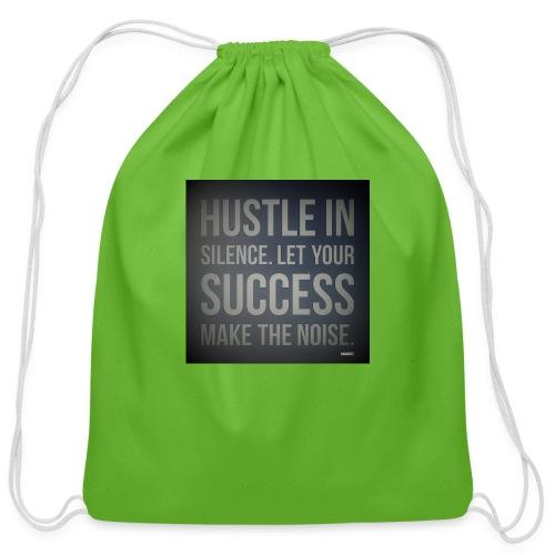 HUSTLE2 - Cotton Drawstring Bag