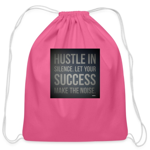 HUSTLE2 - Cotton Drawstring Bag