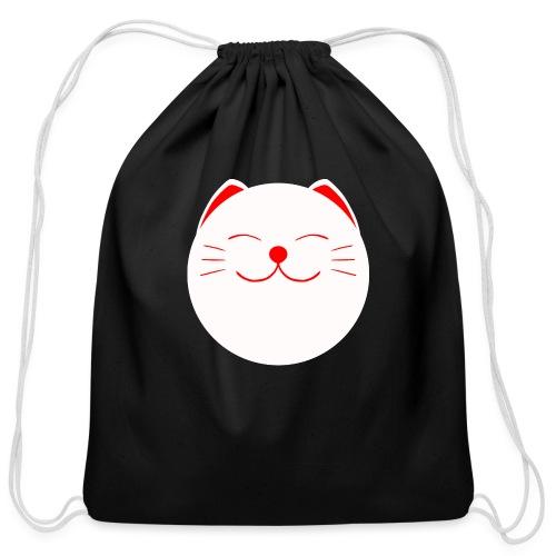 neko - Cotton Drawstring Bag