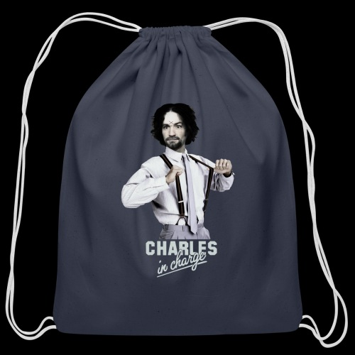 CHARLEY IN CHARGE - Cotton Drawstring Bag