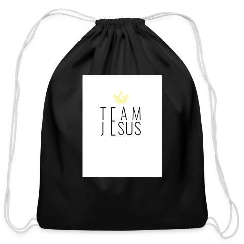 TEAM JESUS3 - Cotton Drawstring Bag